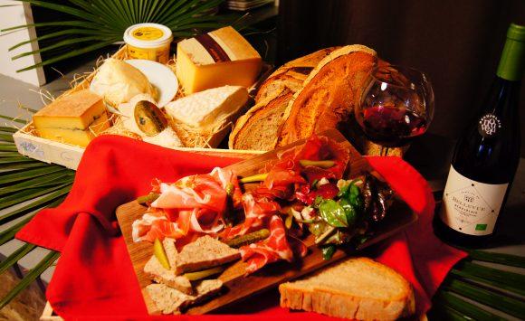 Soirée Terroirs au « Béal » Pains, vins, fromages et charcuteries