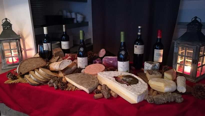 Soirée Terroir 2017  « Pains, vins, fromages et charcuteries »