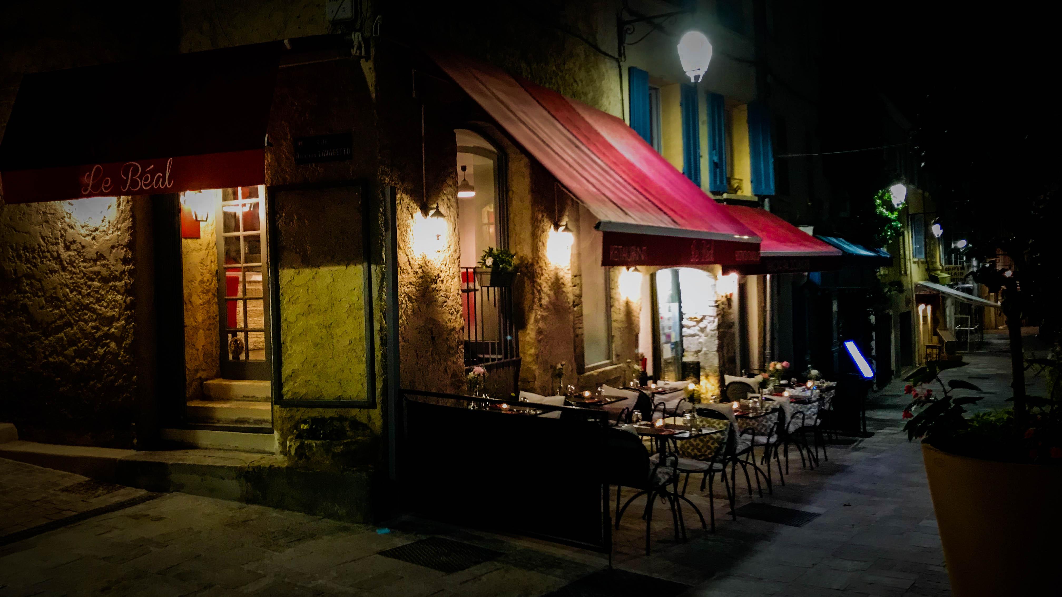 restaurant bistronomique le b al hy res. Black Bedroom Furniture Sets. Home Design Ideas