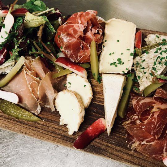 La Gourmande - notre sélection mixte de fromages et charcuteries